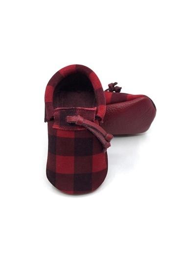 Moots Moots Kırmızı Ekose Ayakkabı Kırmızı